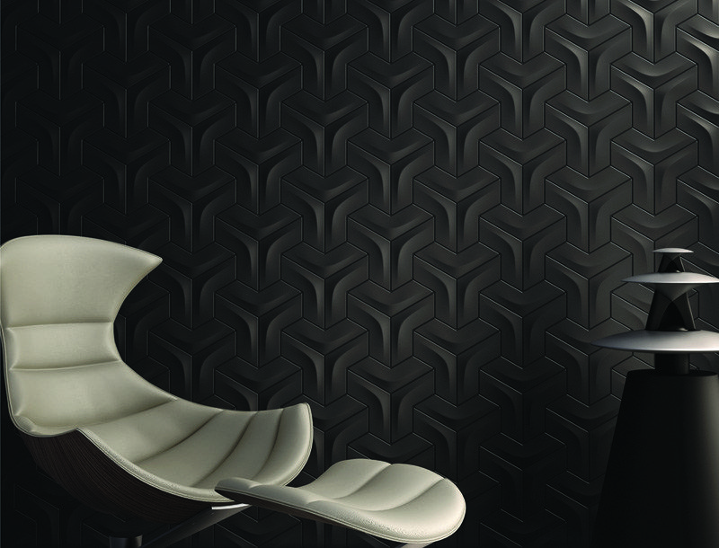 Arc is a unique wall tile offers a 3D raised surface in an arc shape ...