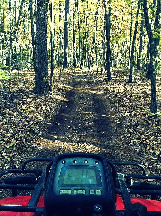 Fourwheeling!! I love to do this with my Dad. This is how we spend time together and I like it :) :) I love him so much