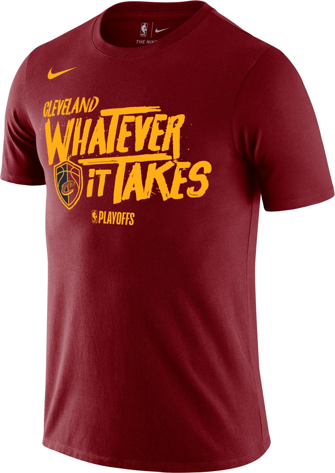 hot sale online 7bf58 383ae Nike Men s Cleveland Cavaliers 2018 Playoffs