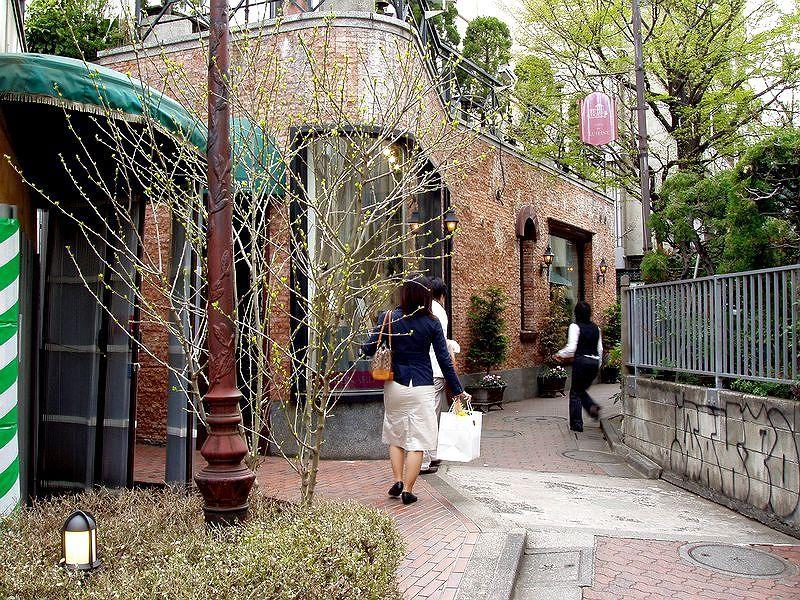 竹下通り、ブラームスの小径
