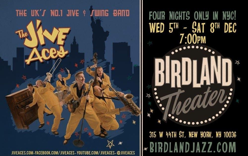 The Jive Aces live at Birdland Jazz Theatre for the first