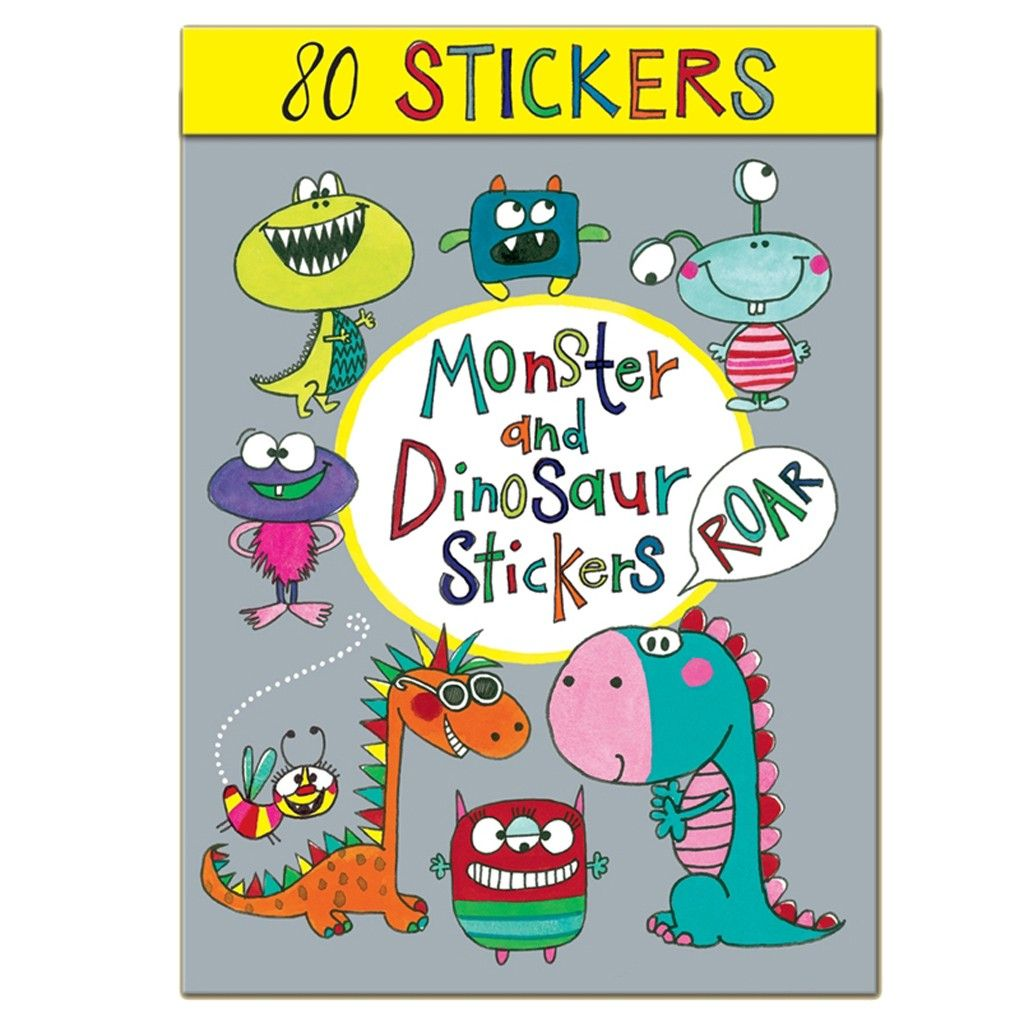 Rachel Ellen Dinosaur Stickers is a fab gift for boys age 3 who are dino mad and like to be creative.