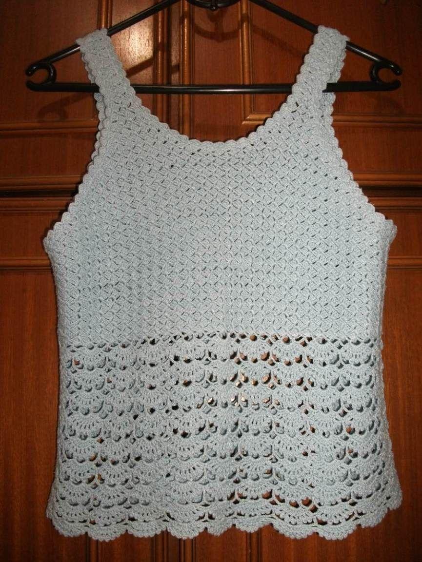 Blusas de Crochê  Modelos fd95318a99e