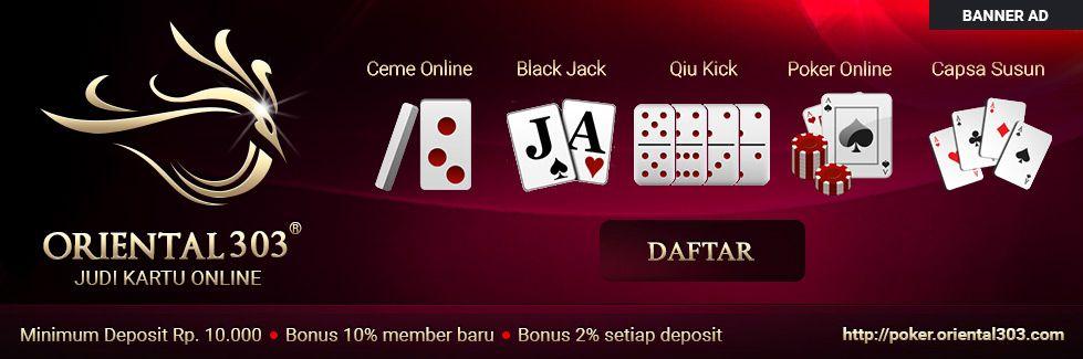 Poker Oriental 303 Jack Black