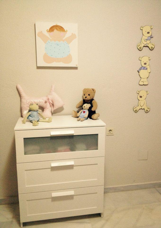 Un trocito de su dormitorio #babyalex