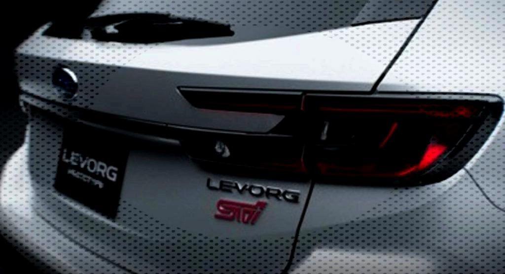 Subaru Levorg Prototype STI Sport Teased Before Tokyo Auto Salon Premiere