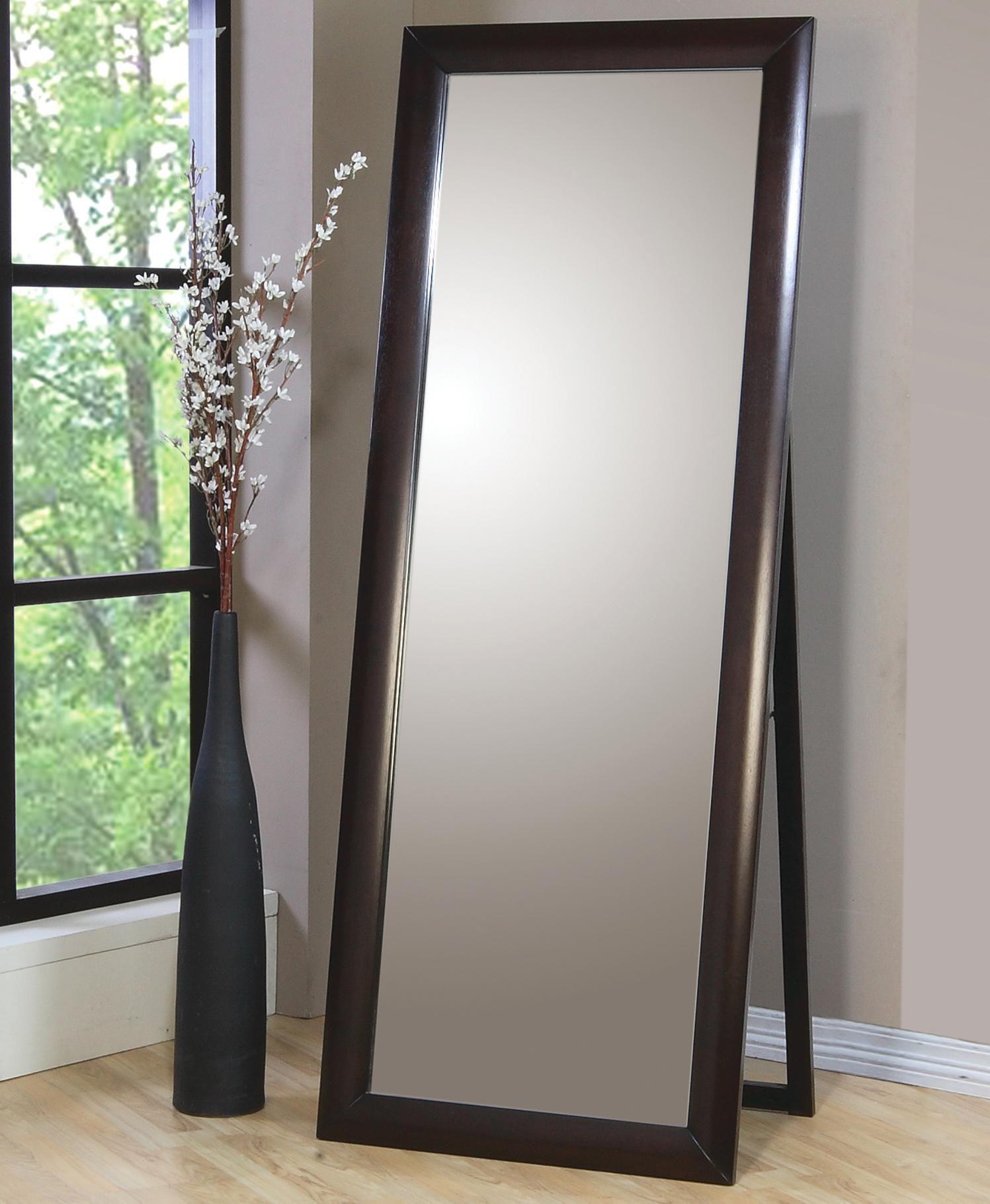 Contemporary Standing Floor Mirror
