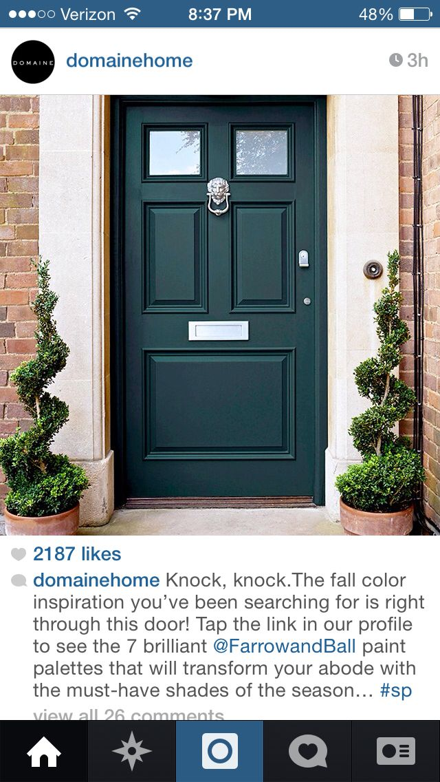 Beautiful Forest Green Door Front Door Paint Colors Painted Front Doors Green Front Doors