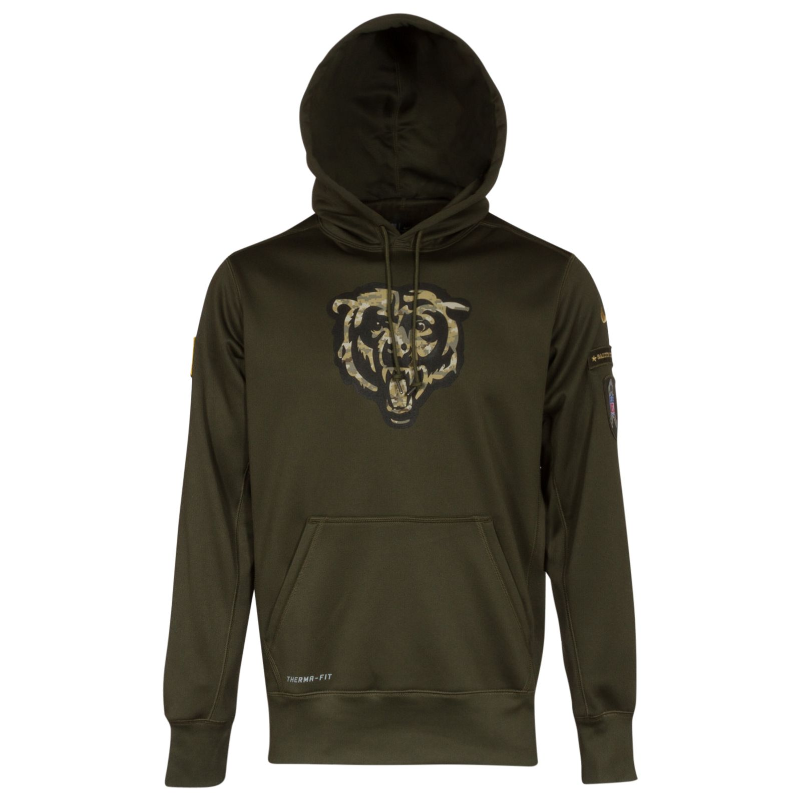 Chicago Bears Salute to Service Men's Hooded Sweatshirt #Chicago ...