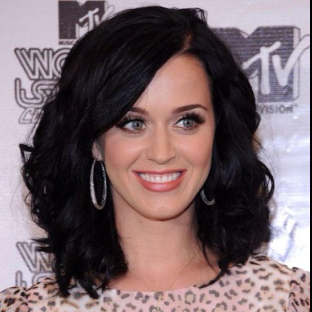 Katy Perry-Hair,Eyelashes,Earrings