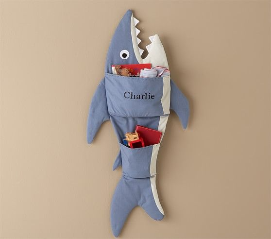 Wall Shark Storage Sea Kids Room Baby Furniture