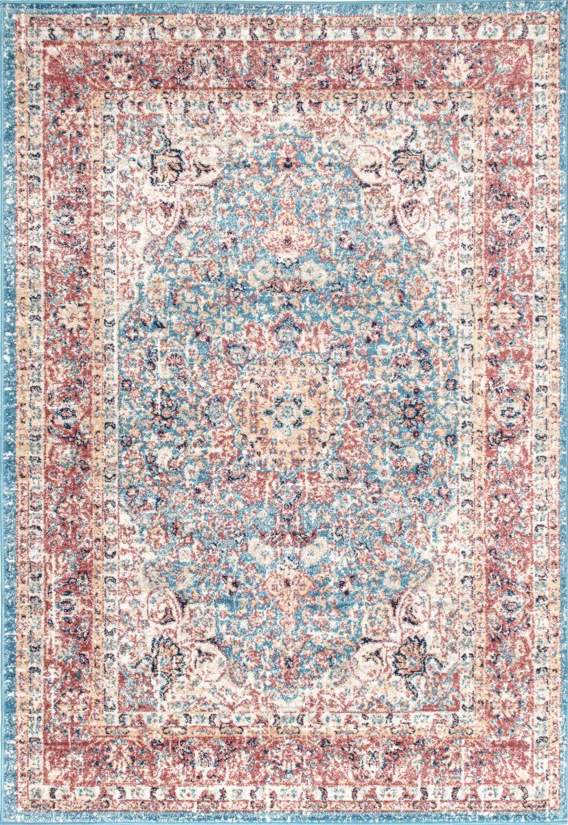 Bosphorus Distressed Persian Blue Rug In 2020 Distressed Persian Rug Persian Rug Red Rugs