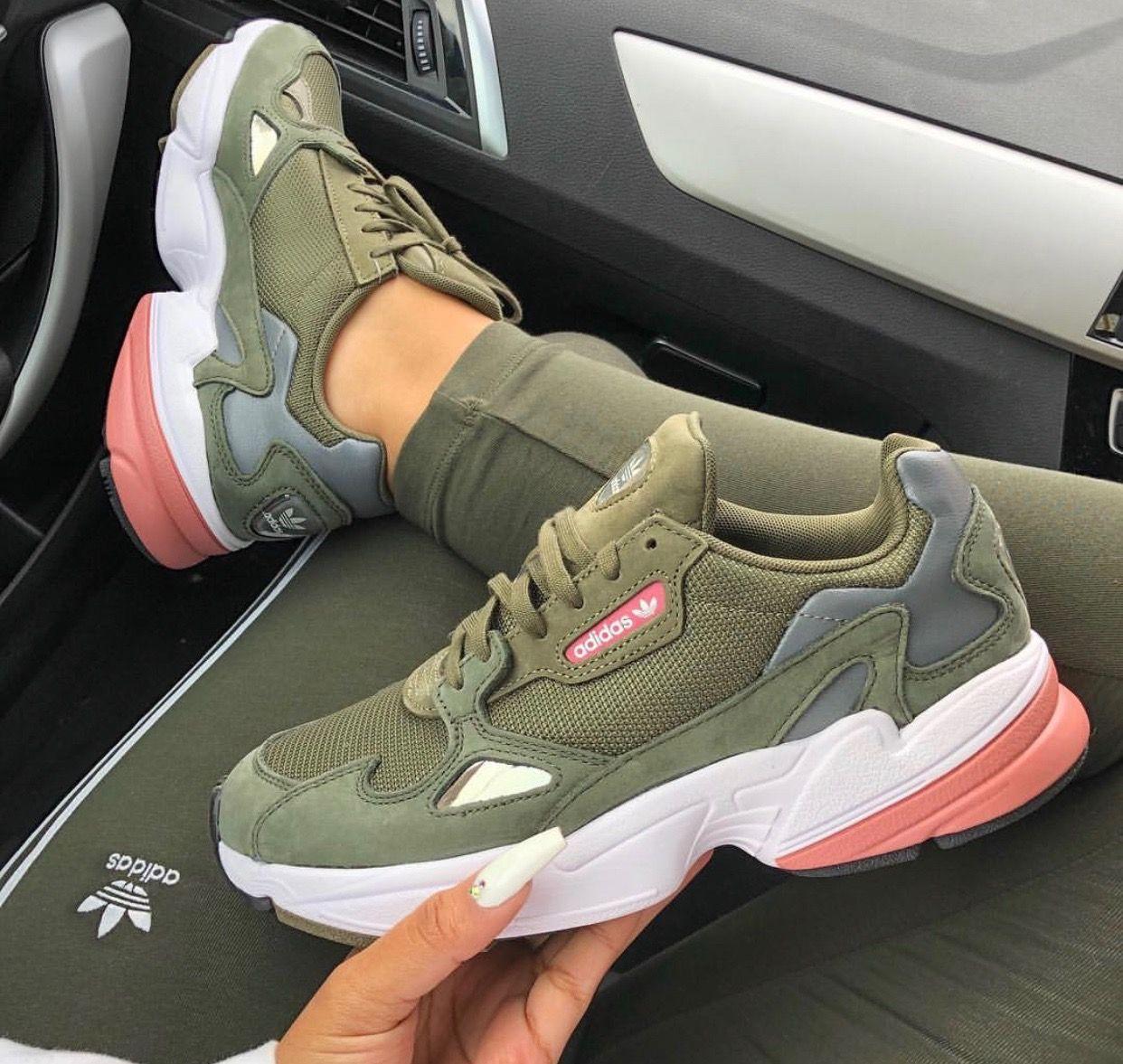adidas zapatillas mujer verde