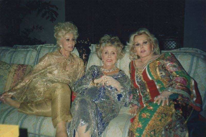 Gabor Sisters   Gabor sisters, Zsa zsa, Classic hollywood