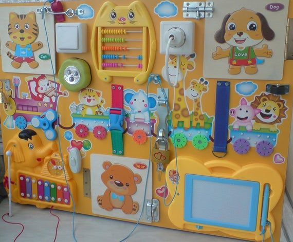 Items similar to Busy board (26*20) Busy Board baby ...
