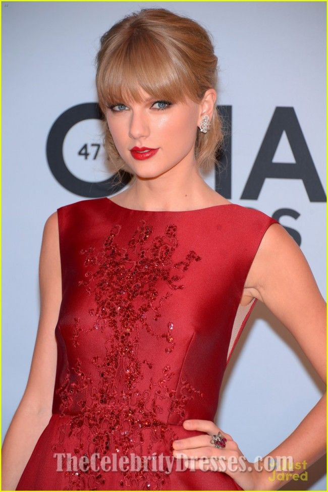 Taylor Swift Red Formal Dress Cma Awards 2013 Red Carpet Taylor Swift Cma Long Live Taylor Swift Taylor Swift Red