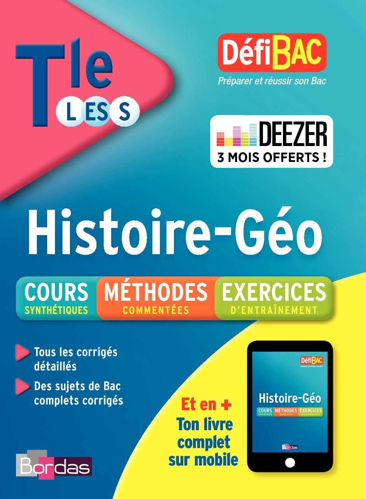 Defibac Histoire Geo Cours Methodes Exercices Terminale L Es S In 2020 Ebook Pdf Ebook Free Reading