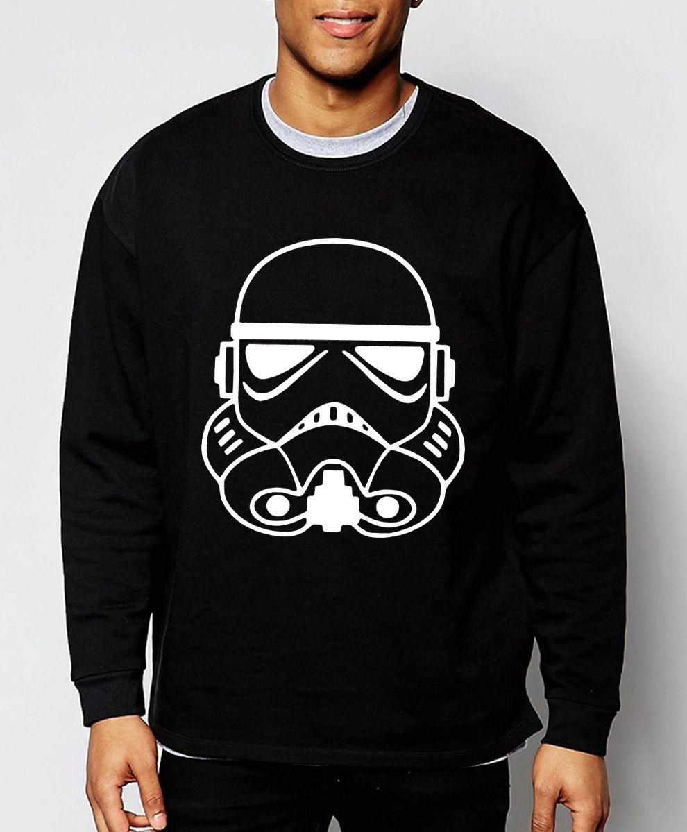 Star Wars Hoodies Hipster Jacket Men The Darth Face Winter Sweatshirt Cotton