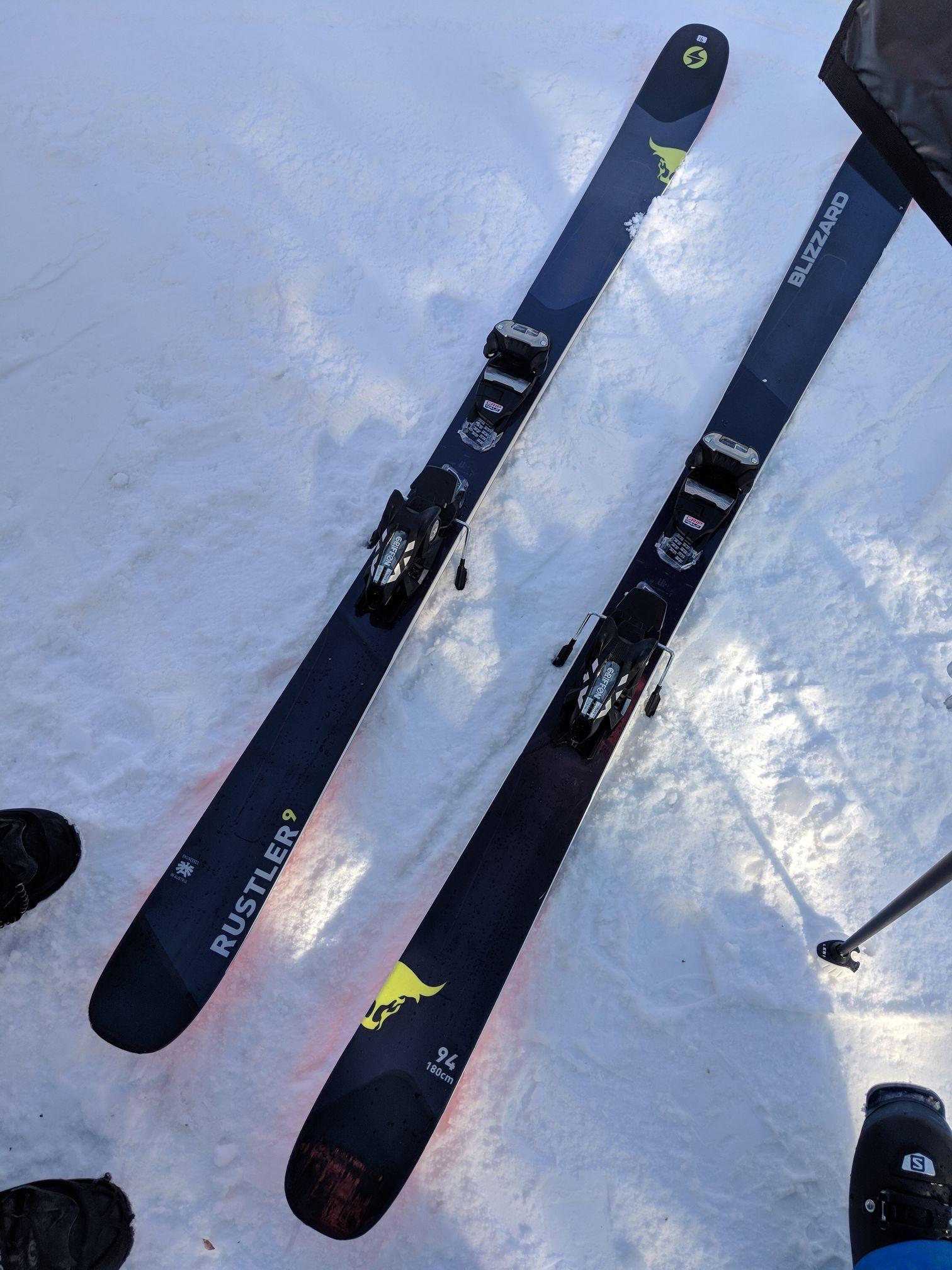 Blizzard Rustler 9 Blizzard brought out the Rustler 10 and Rustler 11  big-mountain skis a237f1ea4bbb