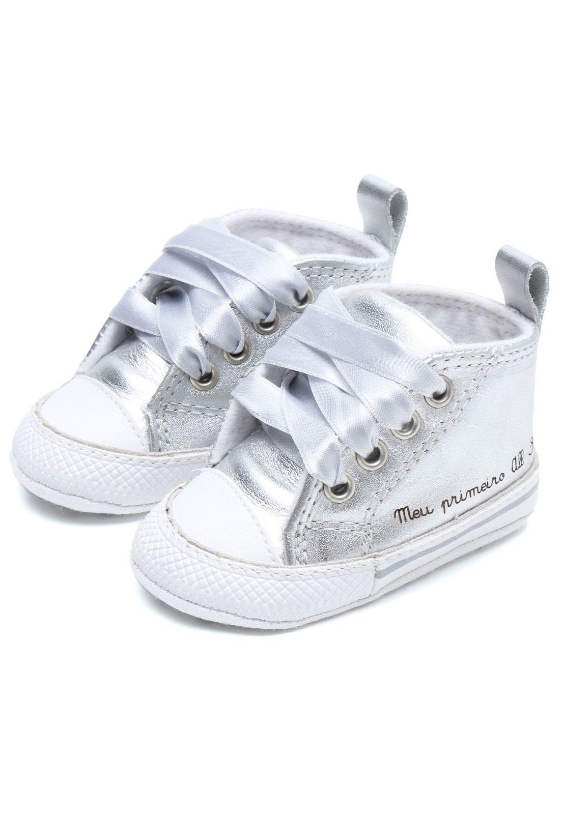 Tênis Converse Chuck Taylor All Star Prata - Marca Converse  bbe662b139864