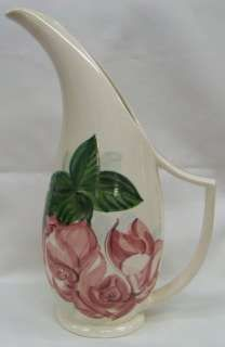 Red Wing Pottery Lexington Rose Pattern Water Pitcher