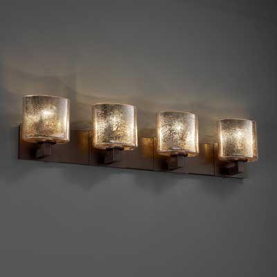 Bronze Bathroom Light Fixtures With