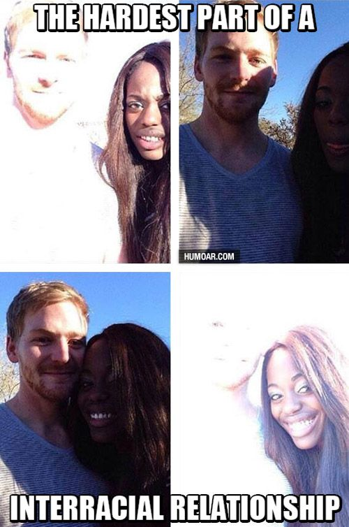 Interracial dating meme funny pics