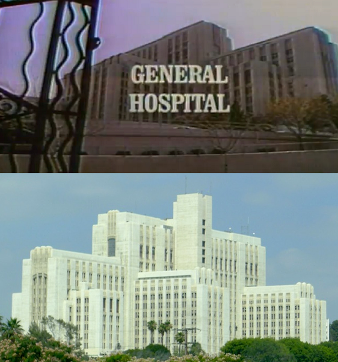 General Hospital Tv Series 1963 Los Angeles County Usc Medical Center 1200 N State Street Los Angeles Calif General Hospital Boyle Heights Los Angeles