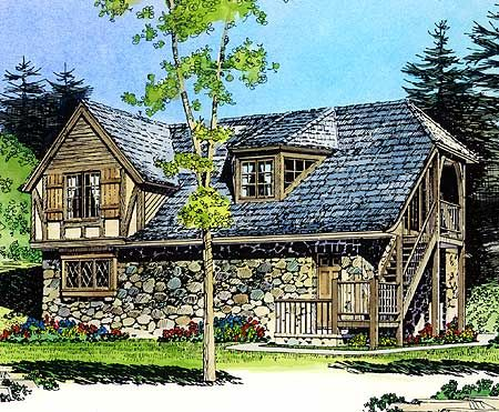 Plan 43053pf Rustic Carriage House Plan Carriage House Plans Carriage House House Plans
