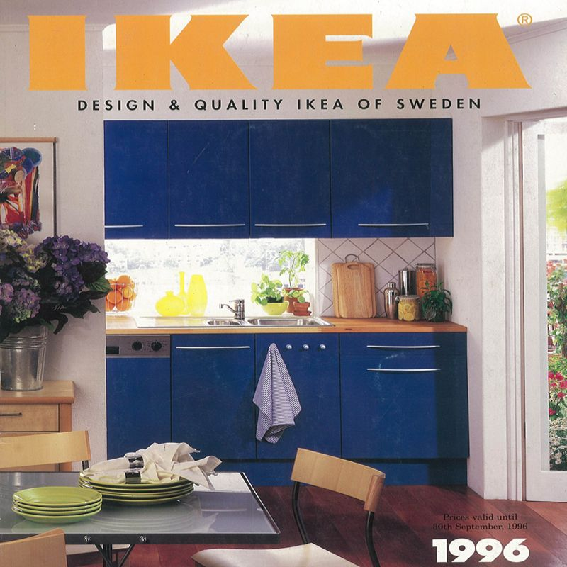 Kitchen Furniture Catalogue: The 1996 IKEA Catalogue.
