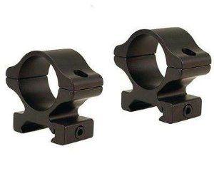 "Leupold Rifleman Detachable 1/"" Aluminum Scope Rings Matte Black Low Medium High"