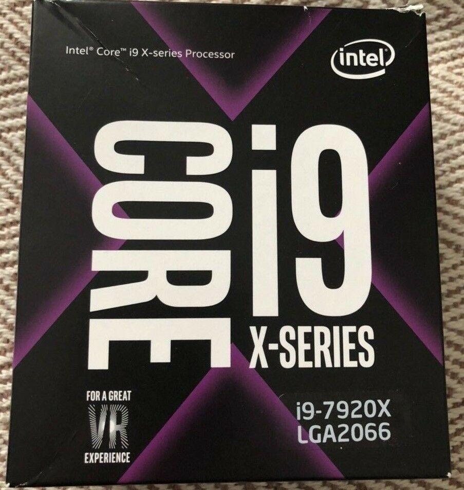 NEW SEALED Intel Core I97920X LGA2066 2.9Ghz XSERIES