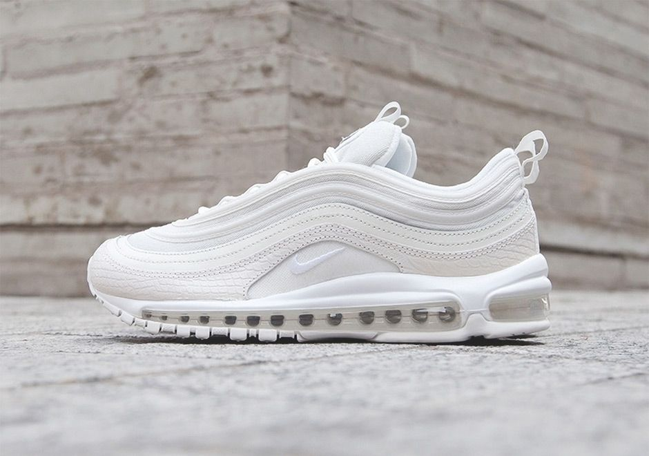 buy online 637a1 9edcb Nike Air Max 97 White Snakeskin Release Info | What's ...