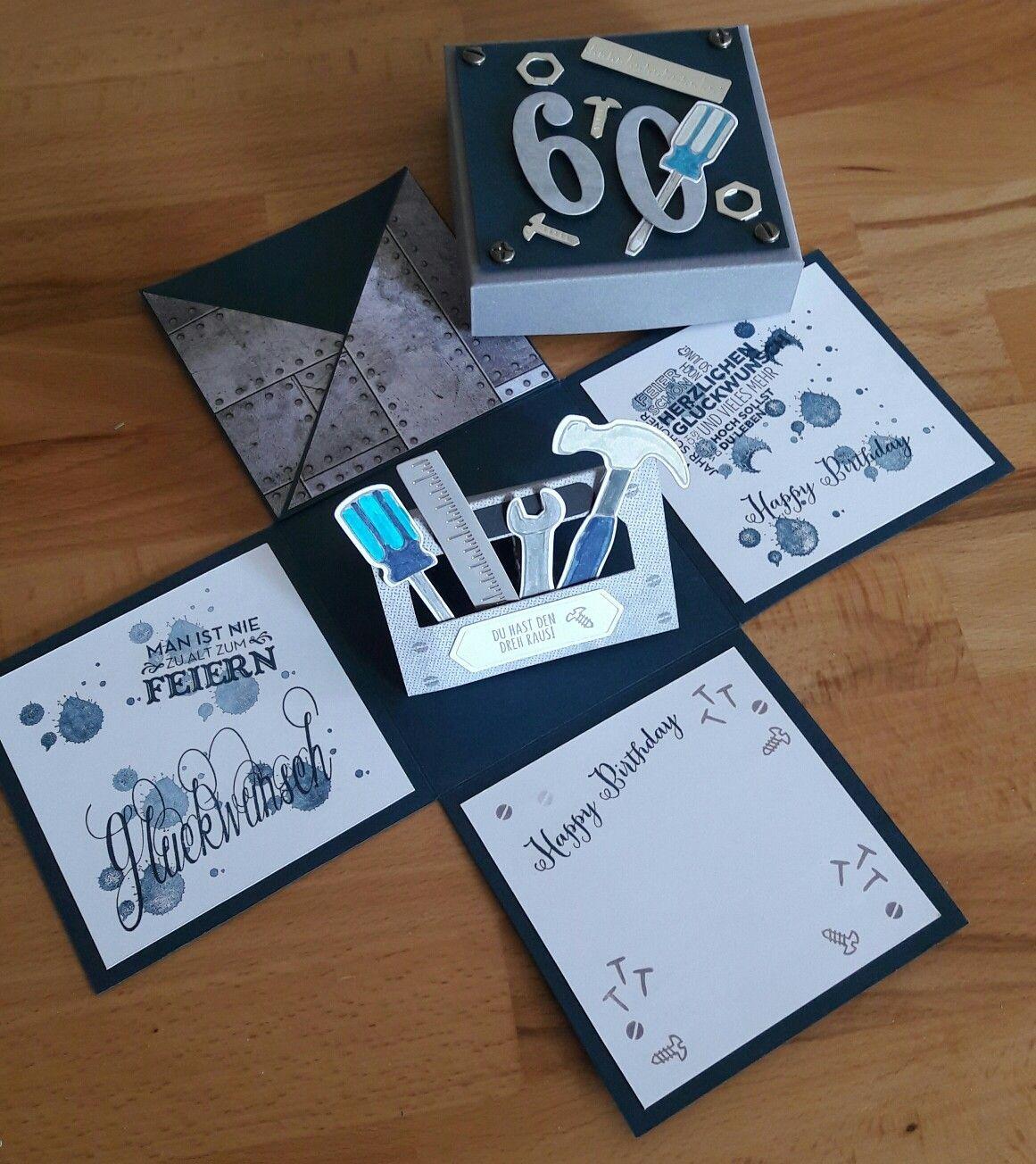Geburtstagskarten Bastelfrau