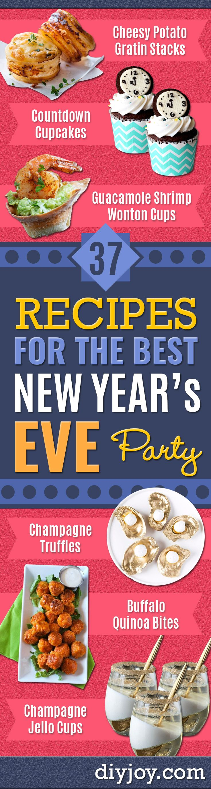 37 Recipes For A New Years Eve Party