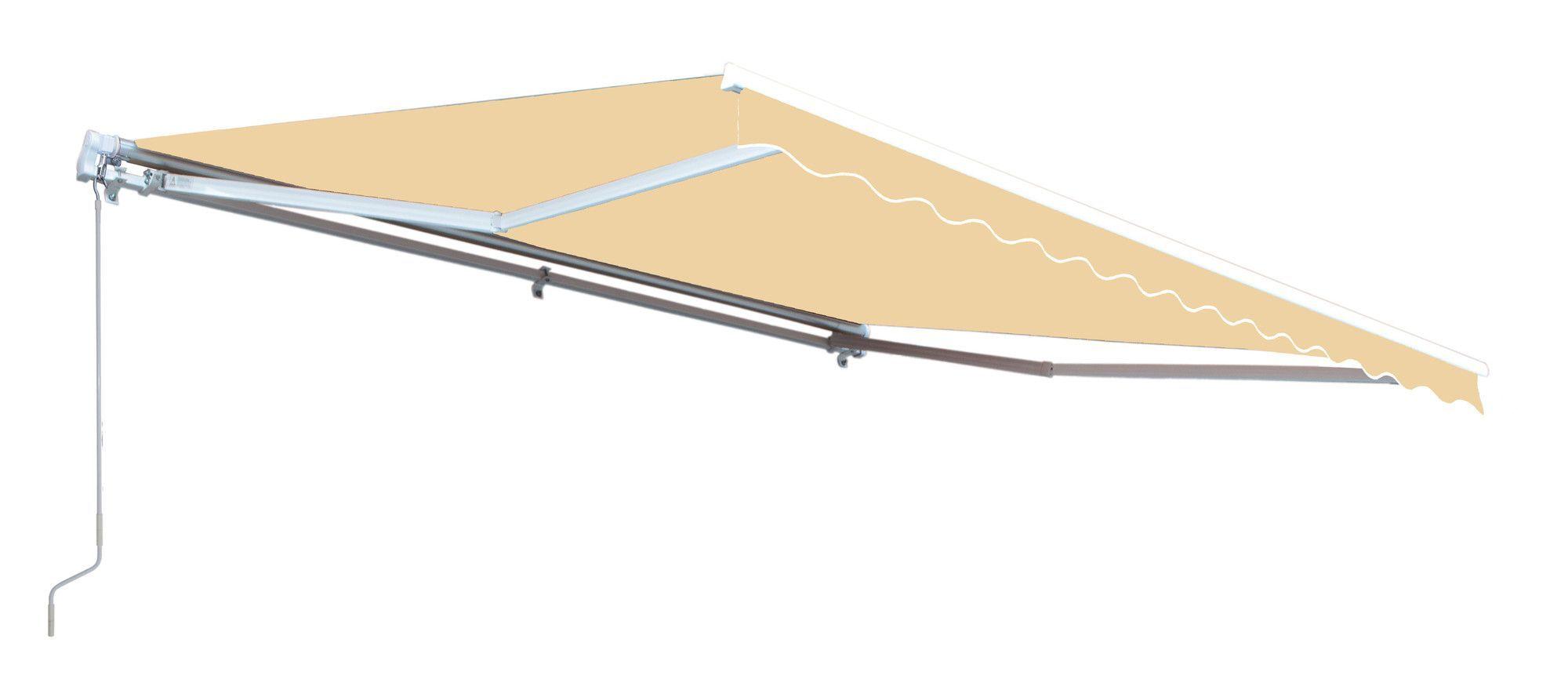 10 Ft W X 8 Ft D Fabric Retractable Standard Patio Awning Pergola Ideas For Patio Pergola Patio Backyard Pergola