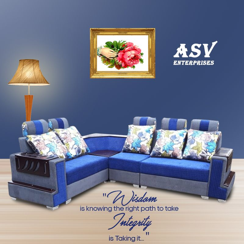 L Shape Sofa Sets Location Hyderabad Feel Free To Contact 9885999606 Also Visit Our Website Http Www A L Shaped Sofa Types Of Sofas L Shape Sofa Set
