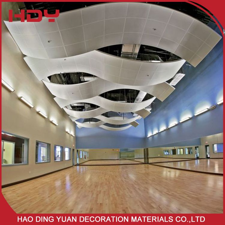 2017 Hot New Products Suspended Aluminum Spandrel Ceiling