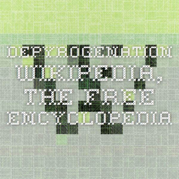 Depyrogenation - Wikipedia, the free encyclopedia