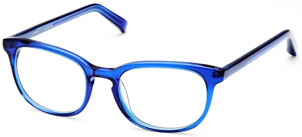 0dca7db5d9 Love the electric blue of the Walker eyeglasses in Canton Blue by Warby  Parker.