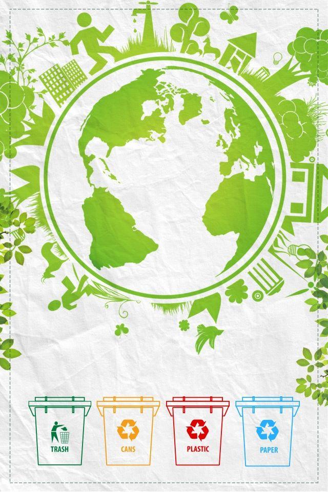 2020 的 World Health Day Environmental Protection Trash Can