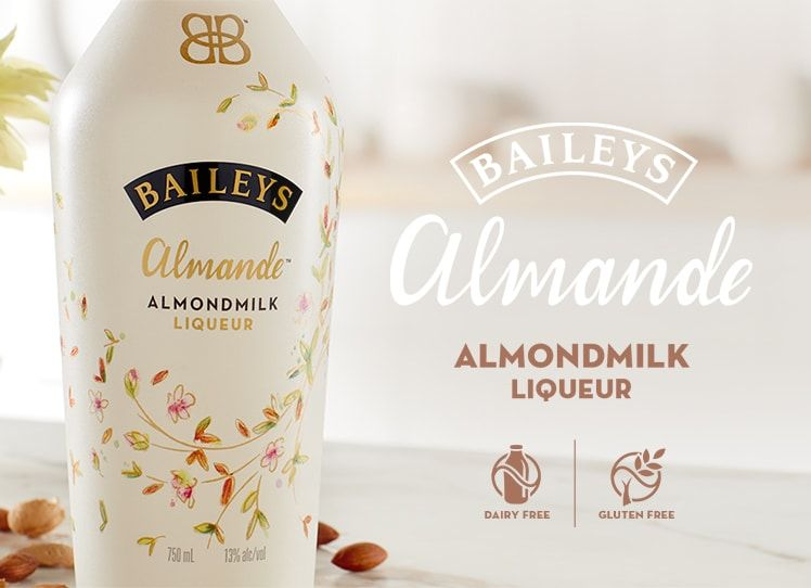 Baileys almande almondmilk liqueur baileys almande