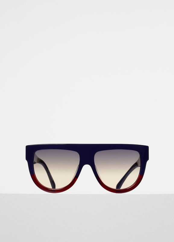5ccdf65caf7a Shadow Sunglasses in Acetate - Céline