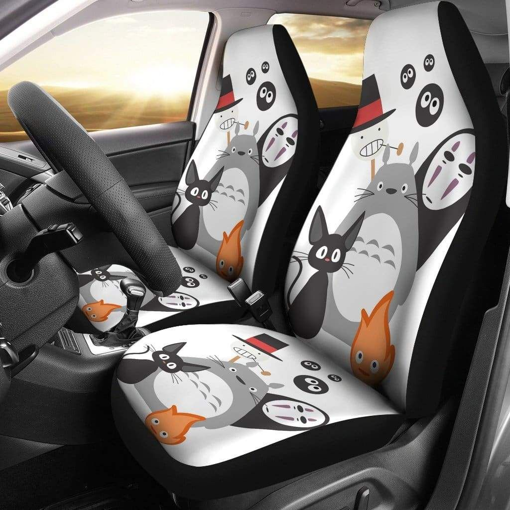 Ghibli character car seat covers amazing best gift idea