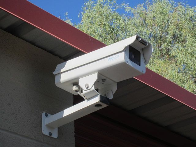 We Have Closed Circuit Surveillence At Storage West Val Vista Lakes So You Can Rest Easy Self Storage Vista Lake