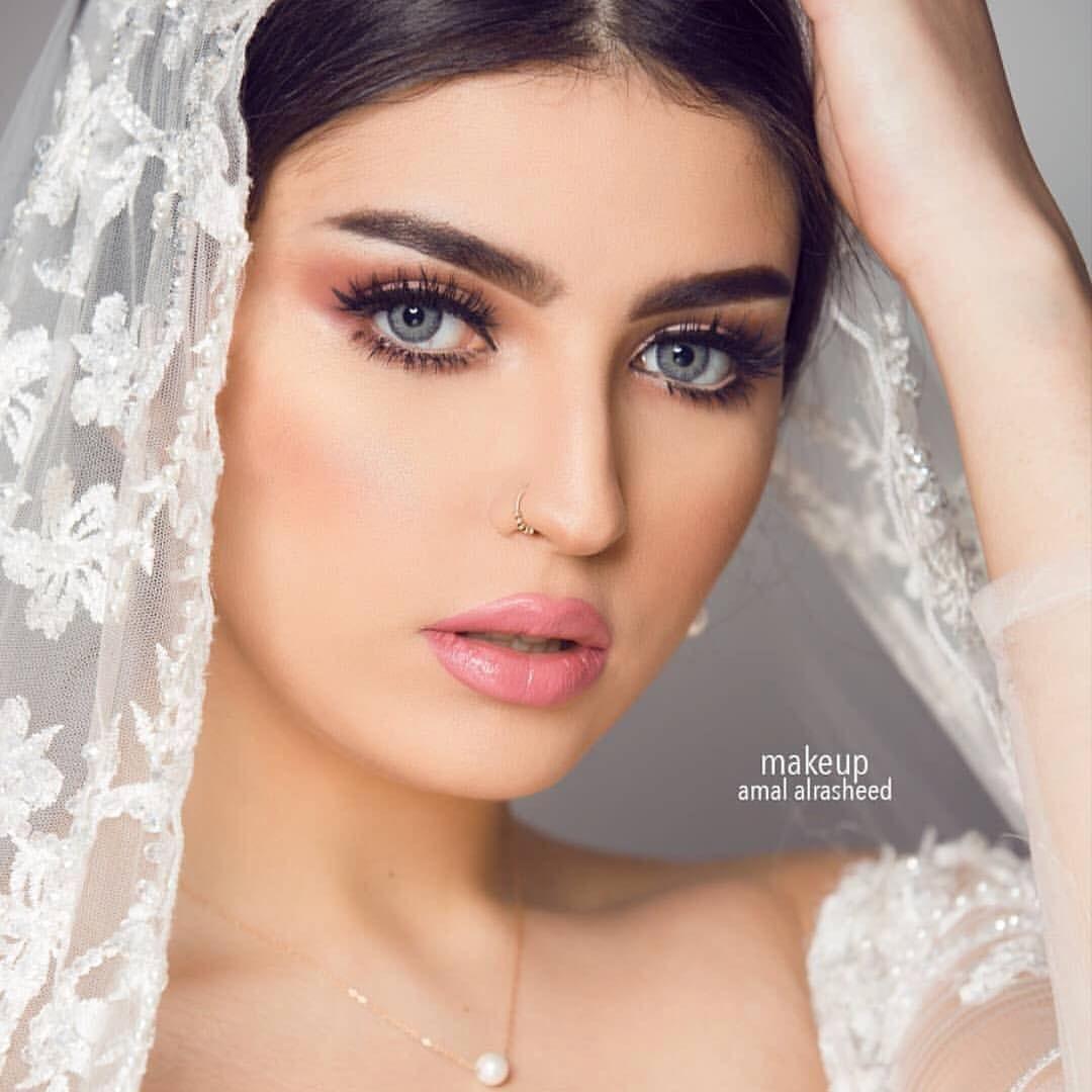 عدسات لنس مي Lensme اسم اللو Muslim Beauty Wedding Makeup Beauty