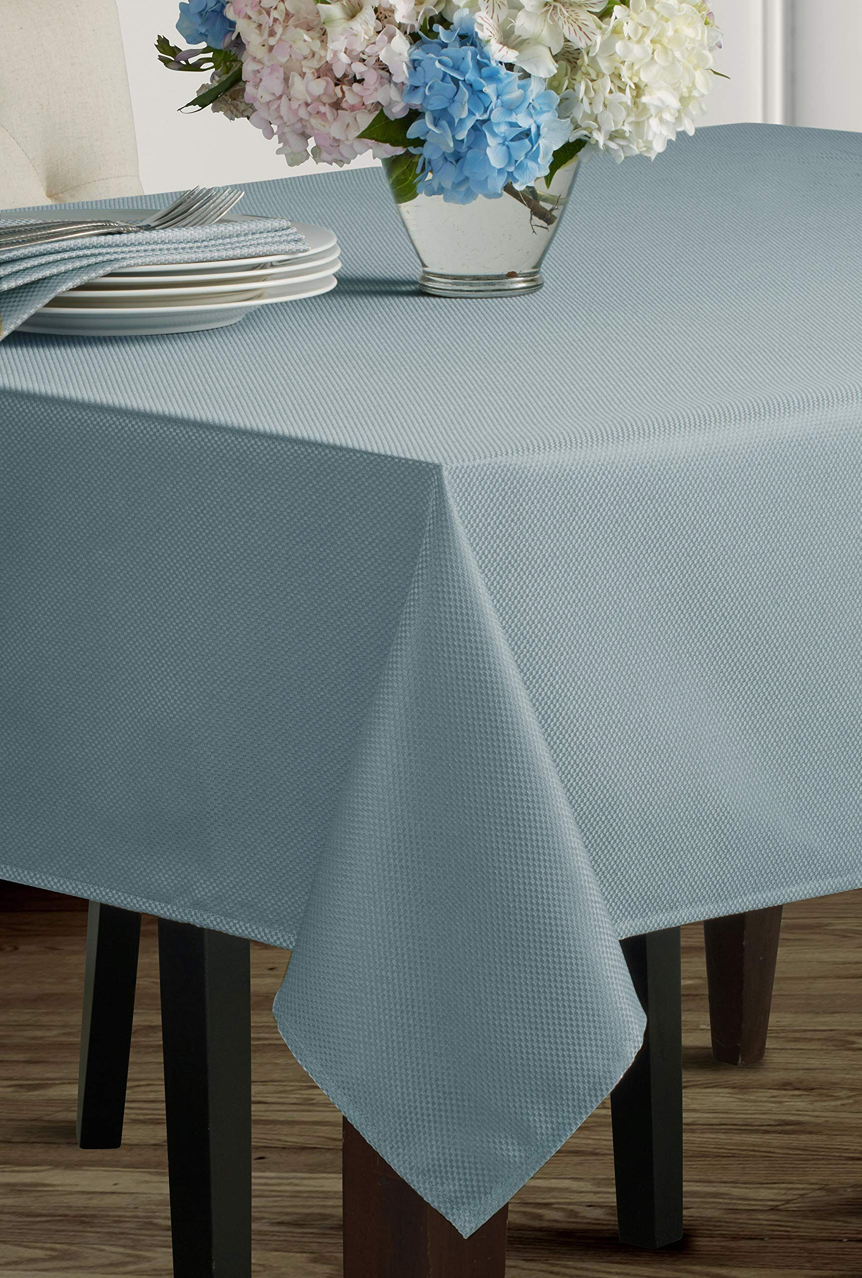 Benson Mills Beauvalle Extra Wide Spillproof Tablecloth 68 X 84