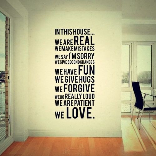So True! #Home #Love #Quote | Home Quotes | Pinterest | Wall décor ...
