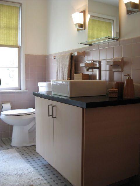1950 S Bathroom Revamp With Akurum Ikea Hackers 1950s Bathroom Ikea Kitchen Cabinets Bathroom