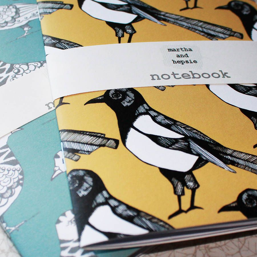 Mischievous Magpie Notebook